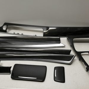 BMW F10 F11 F18 interior carbon trims