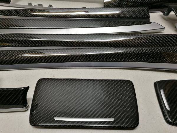 BMW F10 F11 F18 interior carbon trims