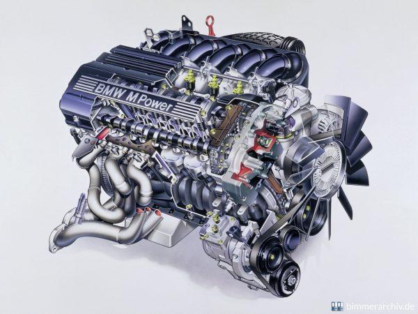 двигател - S50B32 - bmw m3